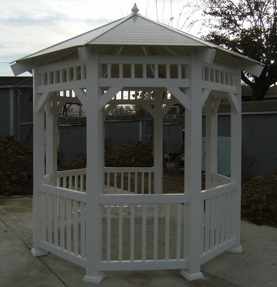 Bbq Islands For Sale >> Vinyl Gazebo Sale Kits or Installed in Southern California