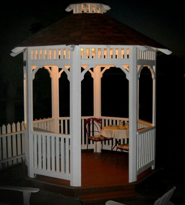 Gazebo Builders Photo Gallery Solid Roof Gazebo Sale